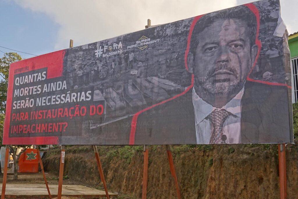 Outdoor questiona posição de Arthur Lira em relação aos processos de impeachment contra Bolsonaro